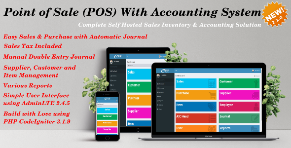Point of Sale (POS) with Accounting System